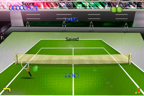 Screenshot Addictive Tennis