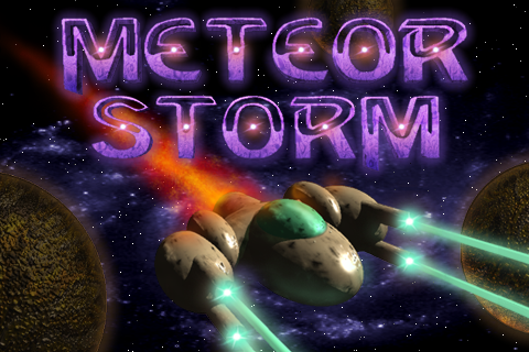 Screenshot Meteor Storm Classic LITE
